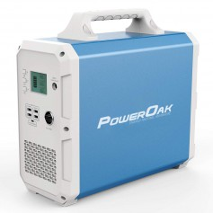 PowerOak - PowerOak PS10 2.400Wh solar AC/DC generator - Powerbanks - PS10